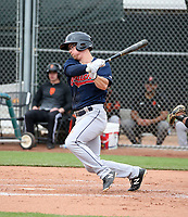 Cody Farhat - Cleveland Indians 2020 spring training (Bill Mitchell)