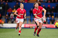 Robyn Wilkins of Wales in action during the Women's six nations championship match between the Wales and Italy at Cardiff Arms Park in Cardiff, Wales, UK. Sunday 02 February 2020