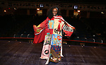 "Vasthy Mompoint During the Actors' Equity Opening Night Legacy Robe honoring Vasthy Mompoint for ""The Prom"" at The Longacre Theatre on November 15, 2018 in New York City."