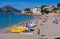 Spanien, Mallorca, Strand von Sant Elm