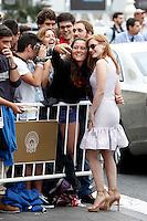 Actress Jessica Chastain arrives to Maria Cristina Hotel during the 62st San Sebastian Film Festival in San Sebastian, Spain. September 22, 2014. (Insidefoto/alterphotos/Caro Marin) <br /> Festival del film di San Sebastian <br /> Foto Alterphotos/Insidefoto