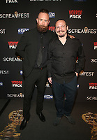 HOLLYWOOD, CA - OCTOBER 12: Matthew McWilliams, at the 21st Screamfest Opening Night Screening Of The Retaliators at Mann Chinese 6 Theatre in Hollywood, California on October 12, 2021. Credit: Faye Sadou/MediaPunch
