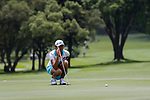 Raniasih Ketut of Indonesia during the first round of the EFG Hong Kong Ladies Open at the Hong Kong Golf Club Old Course on May 11, 2018 in Hong Kong. Photo by Marcio Rodrigo Machado / Power Sport Images