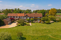 BNPS.co.uk (01202) 558833. <br /> Pic: Savills/BNPS<br /> <br /> Pictured: The property has beautiful gardens with a sun terrace off the kitchen, level lawns sweeping away to a meadow and a stunning walled garden.<br /> <br /> A wheely rare opportunity...<br /> <br /> A grand country manor with a 300-year-old donkey wheel is on the market for £4.95m.<br /> <br /> The donkey wheel at Annables Manor, one of only two still in existence in England, was built in the 17th century and used to draw water from the 145ft well.<br /> <br /> The Grade II listed manor house near Harpenden, Herts, is one of the finest country houses in the area and as well as its unusual historic feature it has a heated swimming pool and tennis court in its 5.34 acres of land.<br /> <br /> The seven-bedroom home has lots of impressive features including oak beams, open fireplaces and solid oak floors.