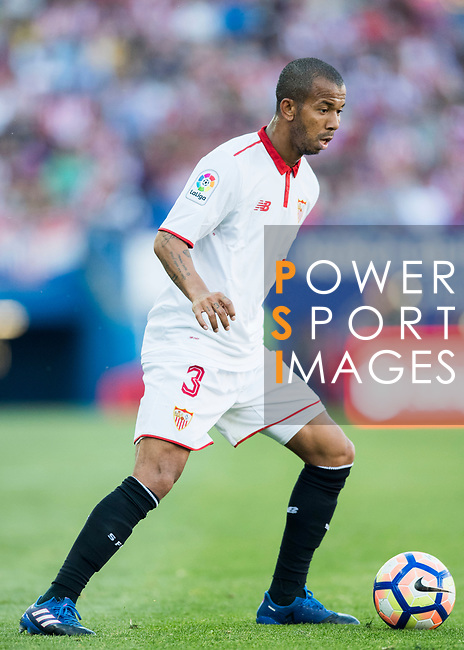 Mariano Ferreira Filho of Sevilla FC in action during their La Liga match between Atletico de Madrid and Sevilla FC at the Estadio Vicente Calderon on 19 March 2017 in Madrid, Spain. Photo by Diego Gonzalez Souto / Power Sport Images