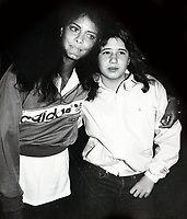 Susie Coelho Chastity Bono 1980s<br /> Photo By John Barrett/PHOTOlink