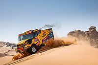 4th January 2021; Dakar Rally stage 2;  #503 Macik Martin (cze), Tomasek Frantisek (cze), Svanda David (cze), Iveco, Big Shock Racing, Camion, Truck, action during the 2nd stage of the Dakar 2021 between Bisha and Wadi Al Dawasir, in Saudi Arabia on January 4, 2021