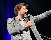 Valerie Plante et Projet Montreal remportent l'election municipale contre Denis Coderre, le 5 novembre 2017.<br /> <br /> en photo :  Luc Ferrandez