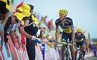 Alberto Contador (ESP)<br /> <br /> Tour de France 2013<br /> stage 15: Givors to Mont Ventoux, 242,5km