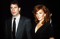 John Travolta Marilu Henner 1985 Photo By John Barrett/PHOTOlink