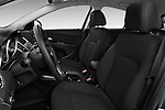 Front seat view of a 2013 Chevrolet CRUZE LTZ 5 Door Hatchback 2WD
