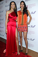 NEW YORK CITY, NY, USA - MARCH 07: Padma Lakshmi, Ujjwala Raut at the 6th Annual Blossom Ball Benefiting Endometriosis Foundation Of America held at 583 Park Avenue on March 7, 2014 in New York City, New York, United States. (Photo by Jeffery Duran/Celebrity Monitor)
