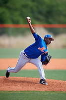 New York Mets pitcher Ezequiel Zabaleta (39) during a Minor League Spring Training intrasquad game on March 29, 2018 at the First Data Field Complex in St. Lucie, Florida.  (Mike Janes/Four Seam Images)