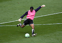 Washington Freedom's goalkeeper Briana Scurry. The LA Sol defeated the Washington Freedom 2-0 in the opening game of Womens Professional Soccer at Home Depot Center stadium on Sunday March 29, 2009.  .Photo by Michael Janosz