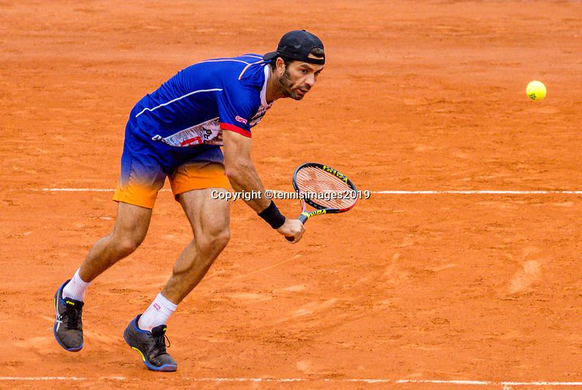 Paris, France, 3 june, 2019, Tennis, French Open, Roland Garros, Mens doubles: Jean Julien Rojer (NED) <br /> Photo: Henk Koster/tennisimages.com