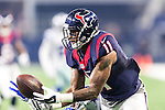 Houston Texans wide receiver Jaelen Strong (11) in action during the pre-season game between the Houston Texans and the Dallas Cowboys at the AT & T stadium in Arlington, Texas.