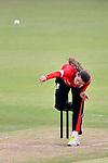 Marina Lamplough of Hong Kong in action during their ICC 2016 Women's World Cup Asia Qualifier match between Hong Kong and China on 14 October 2016 at Hong Kong Cricket Club in Hong Kong, China. Photo by Marcio Machado / Power Sport Images