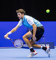 Rotterdam, Netherlands, December 14, 2016, Topsportcentrum, Lotto NK Tennis,   Robin Haase (NED)<br /> Photo: Tennisimages/Henk Koster