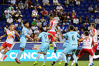 Harrison, NJ - Thursday Sept. 15, 2016: Gonzalo Veron during a CONCACAF Champions League match between the New York Red Bulls and Alianza FC at Red Bull Arena.