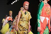 Georgia May Jagger<br /> front row at the Matty Bovan London Fashion Week SS18 catwalk show, London<br /> <br /> ©Ash Knotek  D3431  14/09/2018