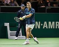 ABN AMRO World Tennis Tournament, Rotterdam, The Netherlands, 17 Februari, 2017, Martin Klizan (SVK)<br /> Photo: Henk Koster