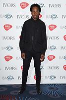 Lamaar<br /> at The Ivor Novello Awards 2017, Grosvenor House Hotel, London. <br /> <br /> <br /> ©Ash Knotek  D3267  18/05/2017