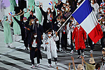 France delegation (FRA),<br />JULY 23, 2021 : <br />Tokyo 2020 Olympic Games Opening Ceremony at the Olympic Stadium in Tokyo, Japan. <br />(Photo by Yohei Osada/AFLO SPORT)