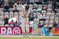 Ravindra Jadeja, Indian nicks Neil Wagner, New Zealand and is dismissed during India vs New Zealand, ICC World Test Championship Final Cricket at The Hampshire Bowl on 23rd June 2021