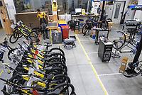 CROATIA, Sveta Nedelja near Zagreb, Rimac Automobili, Greyp e-bike manufacturing  / KROATIEN, Sveta Nedelja bei Zagreb , Rimac Automobili, Unternehmen Greyp Elektrofahrrad Herstellung