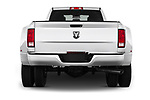 Straight rear view of 2018 Ram Ram 3500 Tradesman Crew Cab Long 4 Door Pick Up stock images
