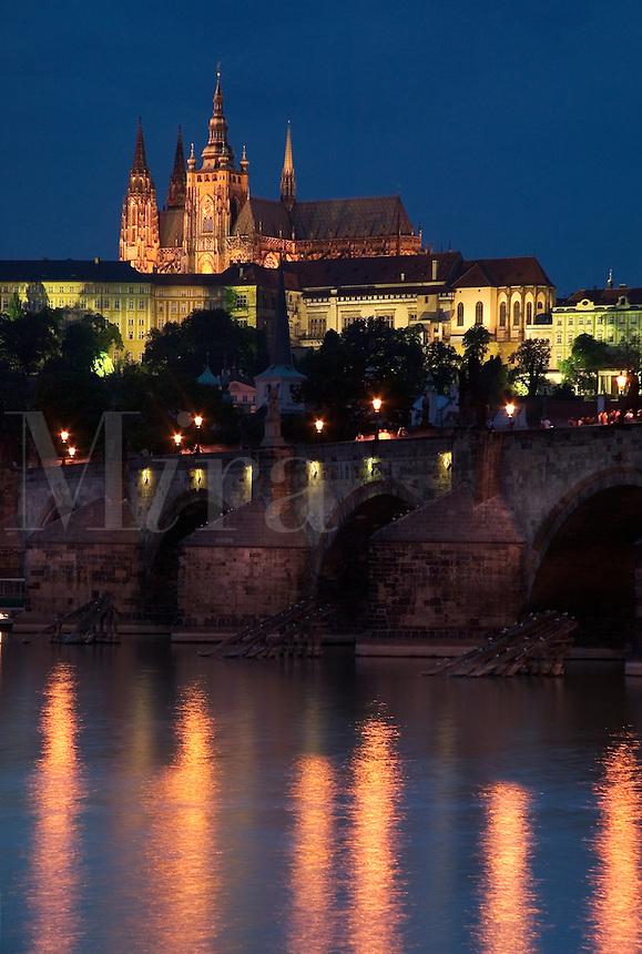 Charles Bridge, Prague, Czech Republic<br />