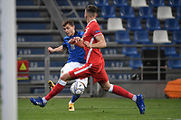 Nicolo Barella of Italy during the Uefa Nation League Group Stage A1 football match between Italy and Poland at Citta del Tricolore Stadium in Reggio Emilia (Italy), November, 15, 2020. Photo Andrea Staccioli / Insidefoto