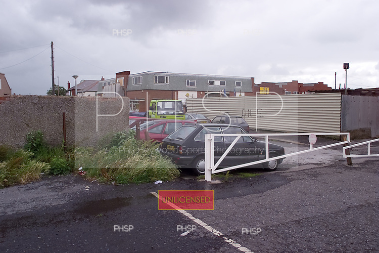 23/06/2000 Blackpool FC Bloomfield Road Ground..Field st.....© Phill Heywood.