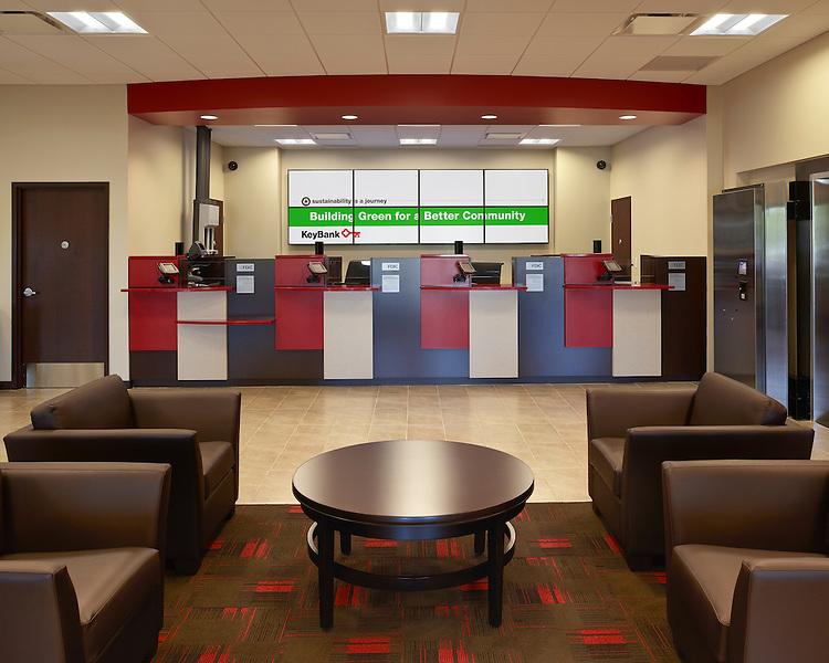 Key Bank Westerville Branch   Architects: Key Bank