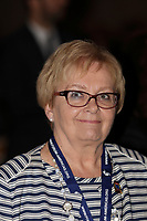 Montreal, CANADA, June, 2015  File Photo.  Colette Roy<br /> <br /> , Mayor Lac Megantic <br /> ,attend the The International Economic Forum of the Americas <br /> <br /> Photo :   Pierre Roussel - AQP