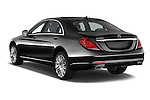 Car pictures of rear three quarter view of 2017 Mercedes Benz S-Class S550-PLUG-IN-HYBRID 4 Door Sedan Angular Rear