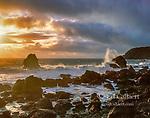 Sunset, Golden Gate National Recreation Area, Marin County, California