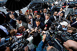 Wednesday, September 20. New York, New York.. After delivering scathing comments  about the Bush administration and its international actions, Venezuelan president Hugo Chavez held an impromptu press conference outside the United Nations in Manhattan.