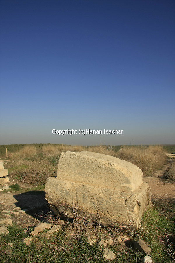 Israel, Shephelah, site of the Israelite palace atTel Lachish