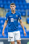 St Johnstone FC….Season 2019-20 <br />Wallace Duffy<br />Picture by Graeme Hart. <br />Copyright Perthshire Picture Agency<br />Tel: 01738 623350  Mobile: 07990 594431