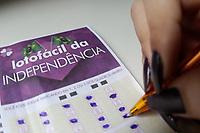 Campinas (SP), 10/09/2021 - Loteria - O sorteio da Lotofácil da Independência está previsto para acontecer no sábado (11), com prêmio estimado de R$ 150 milhões. De acordo com a Caixa Econômica, este é o maior valor pago da modalidade do concurso.