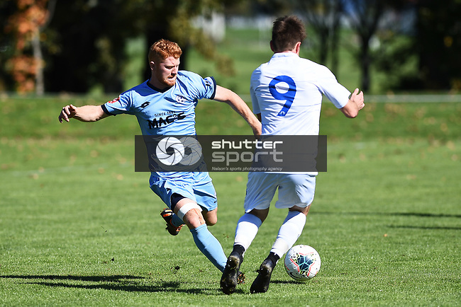 NELSON, NEW ZEALAND - MPL- Nelson Suburbs v Christchurch Utd. Saxton Field, Nelson, New Zealand. Saturday 17 April 2021. (Photo by Chris Symes/Shuttersport Limited)