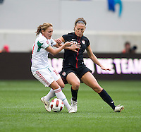 Lauren Cheney. The USWNT defeated Mexico, 1-0, during the game at Red Bull Arena in Harrison, NJ.