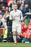 Gareth Bale of Real Madrid enters the pitch during the match Real Madrid vs RCD Espanyol, a La Liga match at the Santiago Bernabeu Stadium on 18 February 2017 in Madrid, Spain. Photo by Diego Gonzalez Souto / Power Sport Images