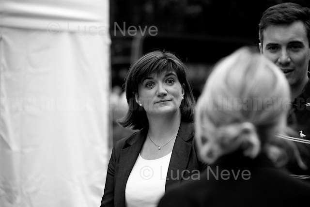Nicky Morgan (British Conservative Party politician, Secretary of State for Education and Minister for Women and Equalities).<br />