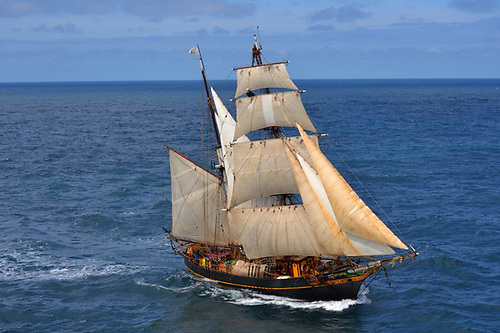 The Tres Hombres Tall Ship
