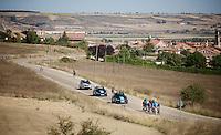 Team SKY stage 17 TT recon ride in Burgos<br /> <br /> restday 2<br /> 2015 Vuelta à Espagna