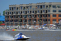 Condos overlooking the race course as the 45's race.