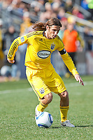 27 MARCH 2010:  Frankie Hejduk of the Columbus Crew(2) during the Toronto FC at Columbus Crew MLS game in Columbus, Ohio on March 27, 2010.