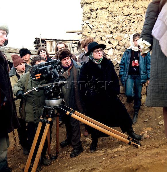 Kira Muratova - soviet and ukrainian film director and screenwriter.   Кира Георгиевна Муратова - cоветский и российский режиссер и сценарист.